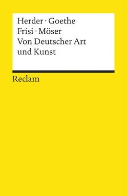 Abbildung von Herder / Korte / Goethe | Von Deutscher Art und Kunst | 2014 | Einige fliegende Blätter | 19102