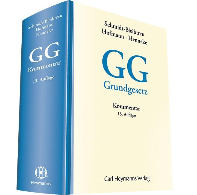 Kommentar zum Grundgesetz: GG | Schmidt-Bleibtreu / Hofmann / Henneke (Hrsg.) | 13. Auflage, 2014 | Buch (Cover)