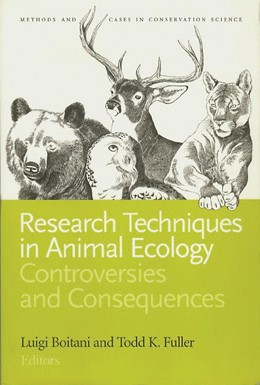 Abbildung von Boitani / Fuller | Research Techniques in Animal Ecology | second edition | 2000 | Controversies and Consequences