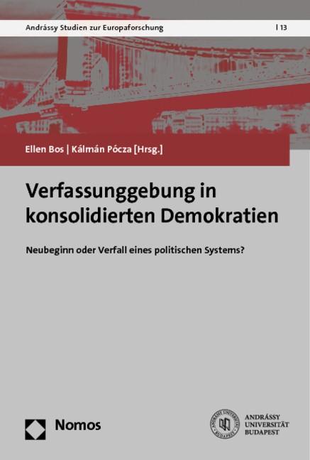 Verfassunggebung in konsolidierten Demokratien | Bos / Pócza, 2014 | Buch (Cover)