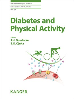 Abbildung von Goedecke / Ojuka | Diabetes and Physical Activity | 1. Auflage | 2014 | 60 | beck-shop.de