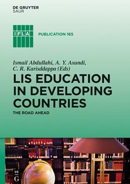Abbildung von Abdullahi / Karisddappa / Asundi | LIS Education in Developing Countries | 2014 | The Road Ahead | 165