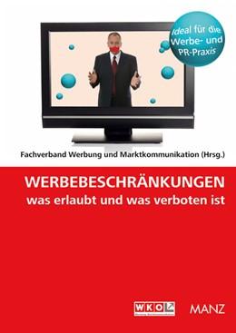 Abbildung von Bogendorfer / / Deutsch | Werbebeschränkungen Was erlaubt und was verboten ist | 2009