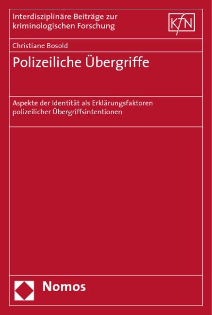 Polizeiliche Übergriffe | Bosold, 2006 | Buch (Cover)
