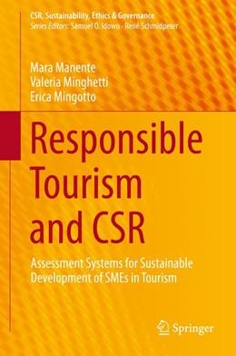 Abbildung von Manente / Minghetti / Mingotto | Responsible Tourism and CSR | 2014 | Assessment Systems for Sustain...