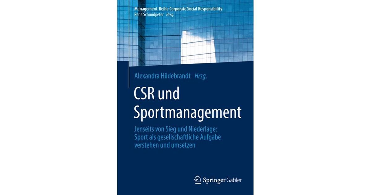 CSR und Sportmanagement | Hildebrandt | 2014, 2014 | Buch | beck-shop.de
