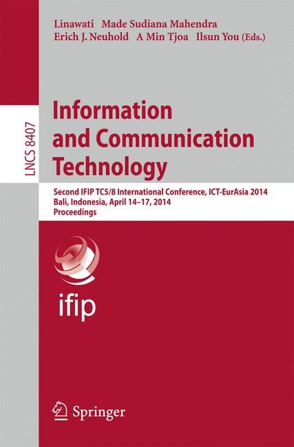 Information and Communication Technology | Linawati / Mahendra / Neuhold / Tjoa / You, 2014 | Buch (Cover)