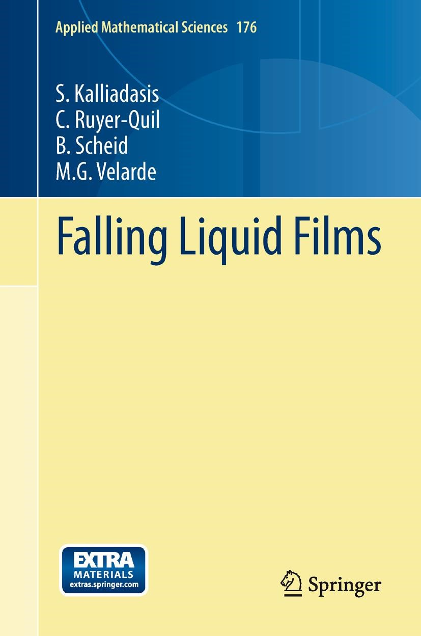 Falling Liquid Films | Kalliadasis / Ruyer-Quil / Scheid, 2013 | Buch (Cover)
