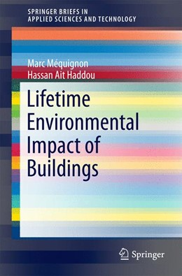 Abbildung von Méquignon / Ait Haddou | Lifetime Environmental Impact of Buildings | 2014
