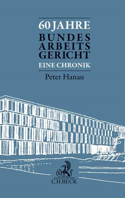 60 Jahre Bundesarbeitsgericht, 2014 | Buch (Cover)