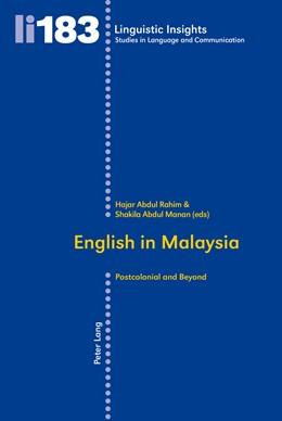 Abbildung von Manan / Rahim | English in Malaysia | 2014 | Postcolonial and Beyond | 183