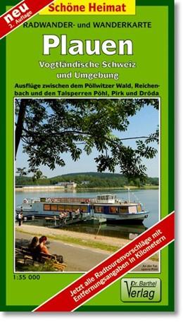 Abbildung von Radwander- und Wanderkarte Plauen, Vogtländische Schweiz und Umgebung 1 : 35 000 | 3., Aufl | 2014 | Ausflüge zwischen dem Pöllwitz...