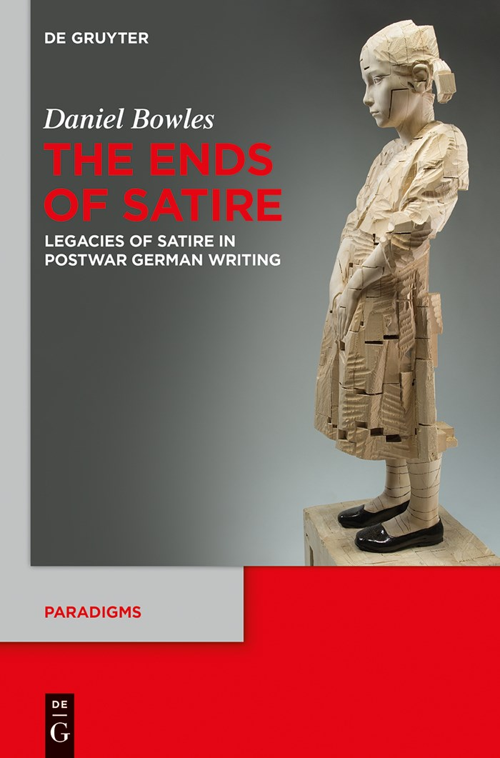 The Ends of Satire | Bowles, 2019 | Buch (Cover)