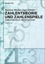 Abbildung von Menzer / Althöfer | Zahlentheorie und Zahlenspiele | 2., akt. und erw. Aufl. | 2014