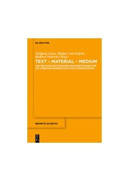 Abbildung von Lukas / Podewski | Text - Material - Medium | 1. Auflage | 2014 | 37 | beck-shop.de