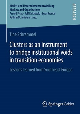 Abbildung von Schrammel | Clusters as an instrument to bridge institutional voids in transition economies | 2014 | 2014 | Lessons learned from Southeast...