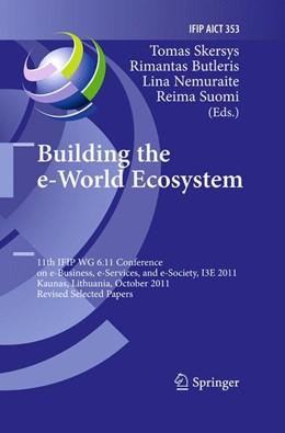 Abbildung von Skersys / Butleris / Nemuraite / Suomi | Building the e-World Ecosystem | 2014 | 11th IFIP WG 6.11 Conference o... | 353