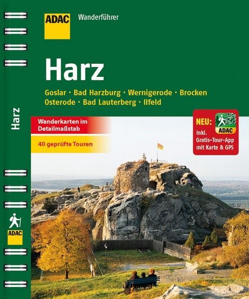 ADAC Wanderführer Harz inklusive Gratis Tour App, 2014 | Buch (Cover)