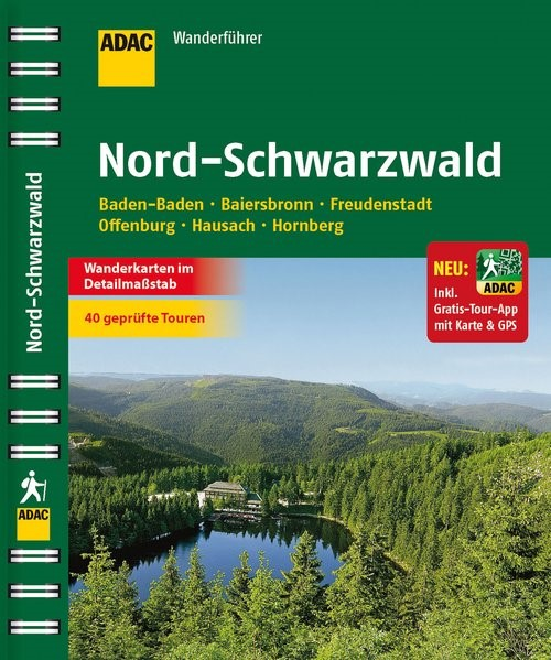 ADAC Wanderführer Nord-Schwarzwald inklusive Gratis Tour App, 2014 | Buch (Cover)
