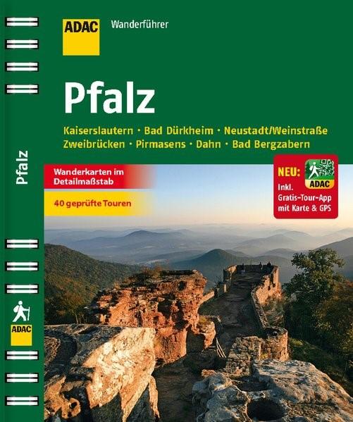 ADAC Wanderführer Pfalz inklusive Gratis Tour App, 2014 | Buch (Cover)