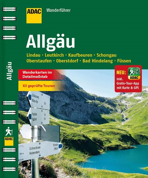ADAC Wanderführer Allgäu inklusive Gratis Tour App, 2014 | Buch (Cover)