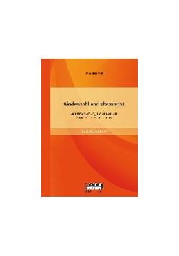 Abbildung von Preuß | Kindeswohl und Elternrecht: Eine Untersuchung am Beispiel des Sozialen Frühwarnsystems | Erstauflage | 2014