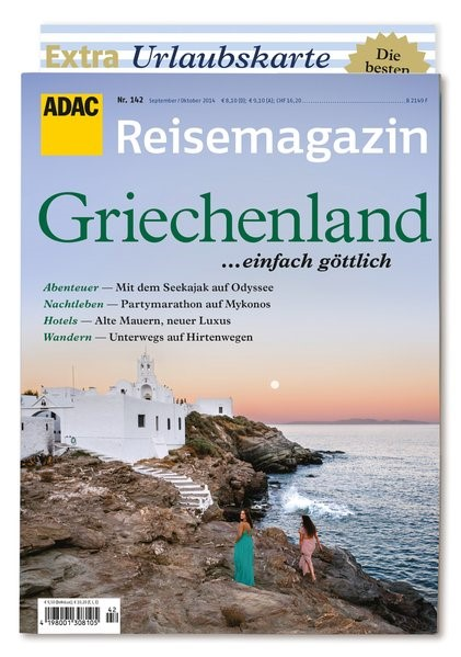 Abbildung von ADAC Reisemagazin Griechenland | 2014