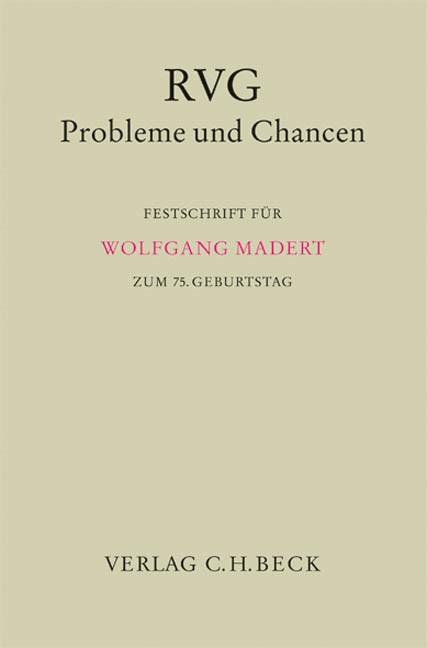 RVG - Probleme und Chancen, 2006 | Buch (Cover)