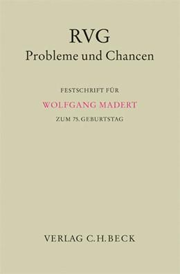 Abbildung von RVG - Probleme und Chancen | 2006 | Festschrift für Wolfgang Mader...