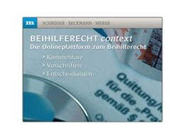 Abbildung von Schröder / Beckmann / Weber | Beihilferecht context | | Kommentare – Vorschriften – En...