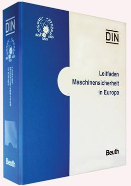 Abbildung von DIN e.V. / IVSS | Leitfaden Maschinensicherheit in Europa | 1. Auflage | 2019 | beck-shop.de