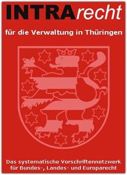 Abbildung von INTRArecht für die Verwaltung in Thüringen   1. Auflage     beck-shop.de
