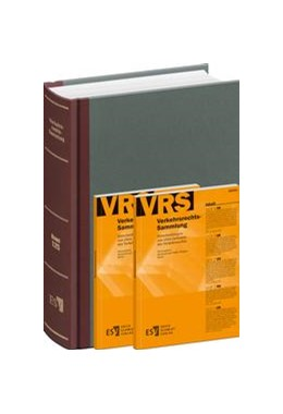 Abbildung von Weigelt | Verkehrsrechts-Sammlung (VRS) | 1. Auflage | 2014 | beck-shop.de