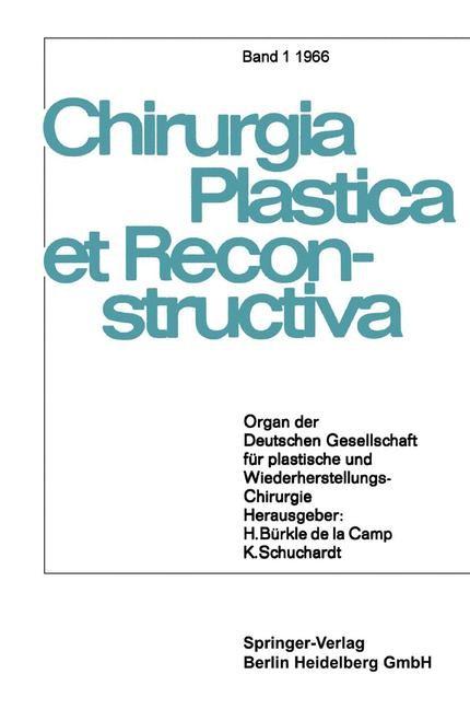 Chirurgia Plastica et Reconstructiva, 1966 | Buch (Cover)