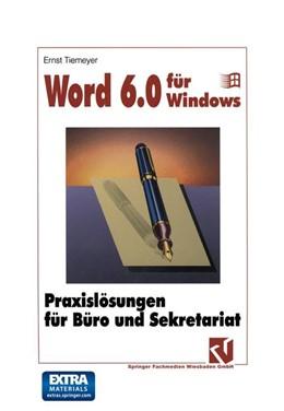 Abbildung von Word 6.0 für Windows   2014   Praxislösungen für Büro und Se...