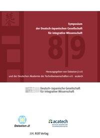 8./9. Symposium der Deutsch-Japanischen Gesellschaft für integrative Wissenschaft mit CD, 2014 | Buch (Cover)