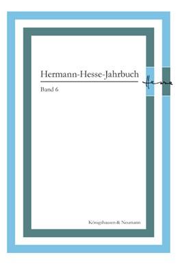 Abbildung von Ponzi | Hermann-Hesse-Jahrbuch, Band 6 | 2014