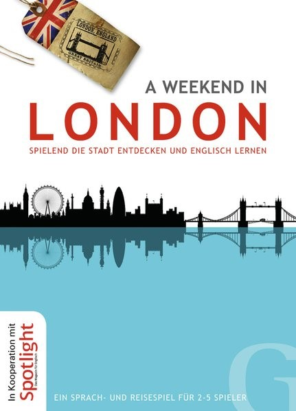 A weekend in London, 2014 (Cover)