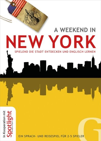 A weekend in New York, 2014 (Cover)
