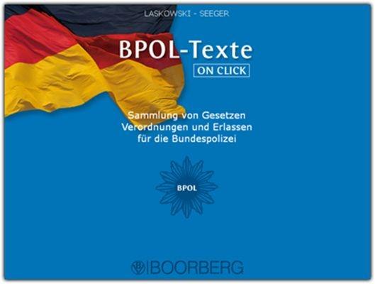 BPOL-Texte ON CLICK | Laskowski / Niechziol, 2012 (Cover)