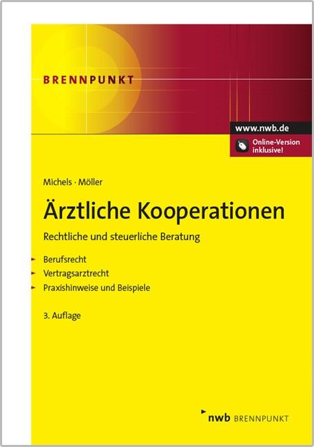 Ärztliche Kooperationen   Michels / Möller   3. Auflage, 2014   Buch (Cover)