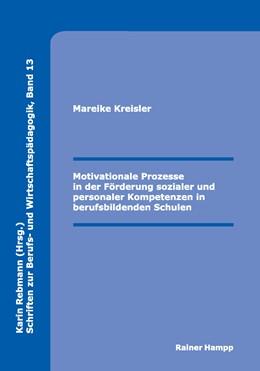 Abbildung von Kreisler   Motivationale Prozesse in der Förderung sozialer und personaler Kompetenzen in berufsbildenden Schulen   2014