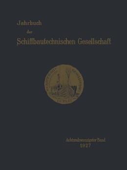 Abbildung von Jahrbuch der Schiffbautechnischen Gesellschaft | 1927 | Achtundzwanzigster Band | 28