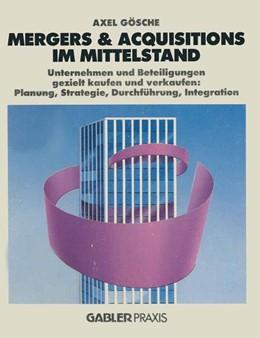 Abbildung von Mergers & Acquisitions im Mittelstand   2014   Unternehmen und Beteiligungen ...