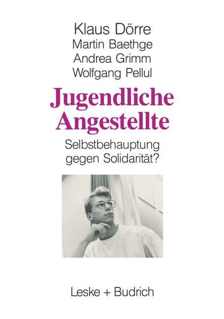 Jugendliche Angestellte   Dörre / Baethge / Grimm, 1994   Buch (Cover)
