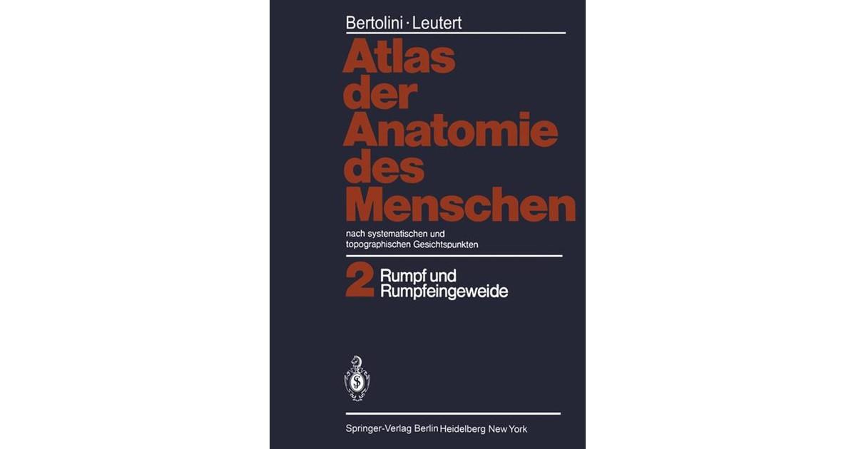 Atlas der Anatomie des Menschen | Bertolini / Leutert, 2011 | Buch ...