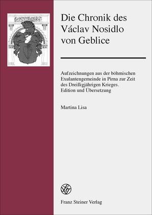 Die Chronik des Václav Nosidlo von Geblice | Lisa, 2014 | Buch (Cover)