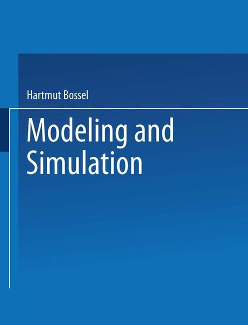 Modeling and Simulation | Bossel, 2014 | Buch (Cover)