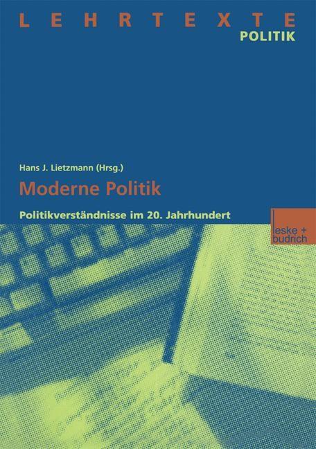 Moderne Politik | Lietzmann, 2012 | Buch (Cover)
