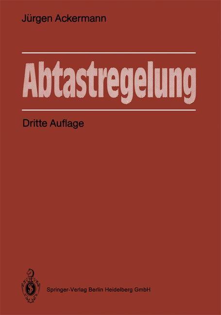 Abtastregelung   Ackermann, 2012   Buch (Cover)